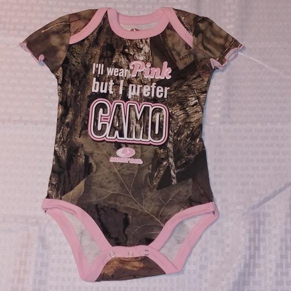 Mossy Oak One Pieces New Infant Baby Girl Bodysuit
